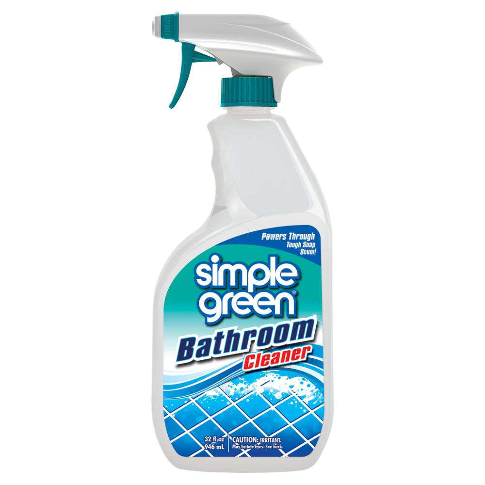 Simple green 32 oz ready to use bathroom cleaner case of for Bathroom cleaning companies
