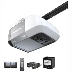 1/2 HP Equivalent DC Chain Drive Wi-Fi Garage Door Opener with Battery Backup