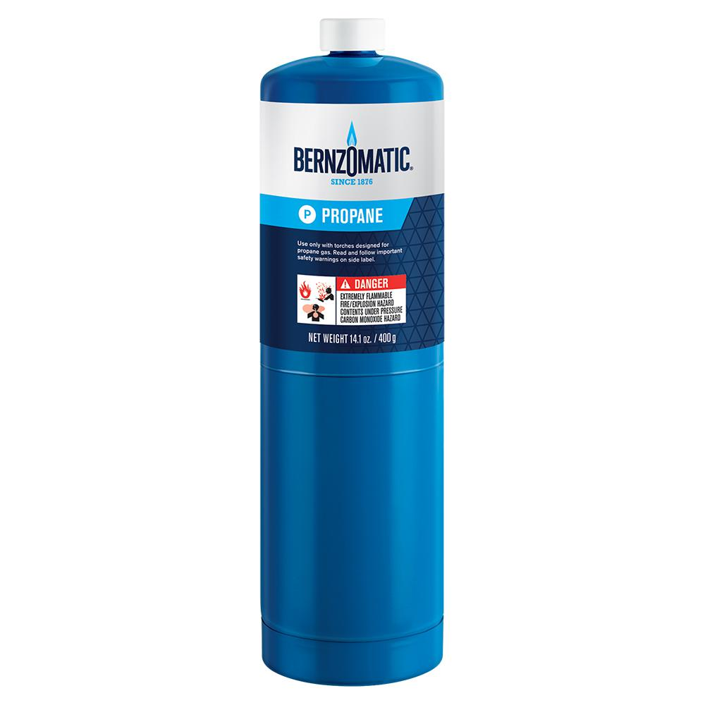 Bernzomatic 14.1 oz. Propane Gas Cylinder-304182 - The Home Depot