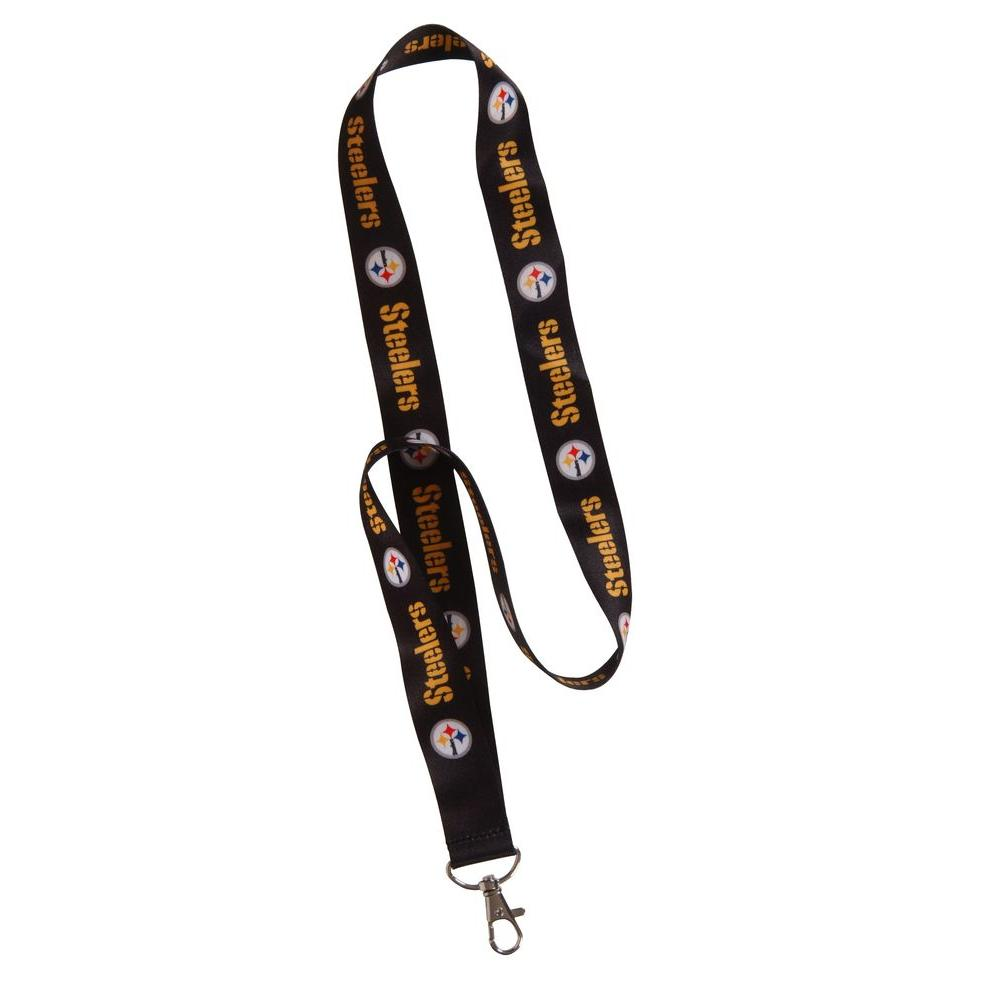 4192f2c27959d The Hillman Group NFL Pittsburgh Steelers Lanyard-712191 - The Home ...