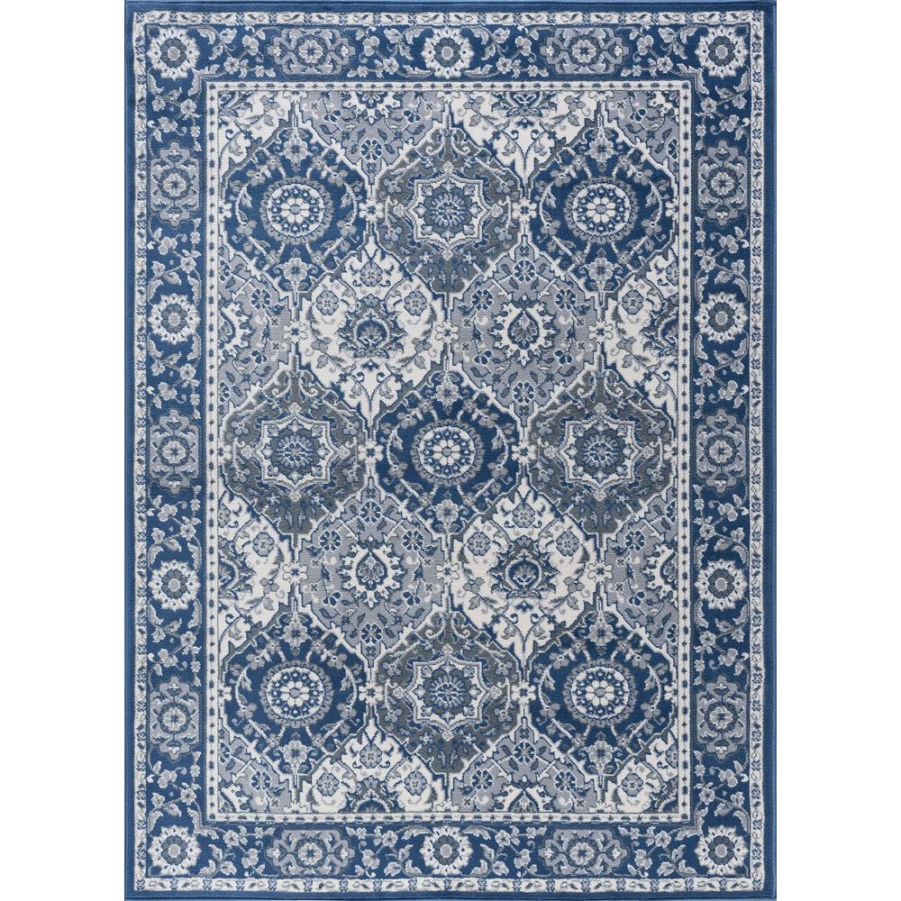 tayse rugs madison navy 9 ft 3 in x 12 ft 6 in area rug mdn3607 9x13 the home depot. Black Bedroom Furniture Sets. Home Design Ideas
