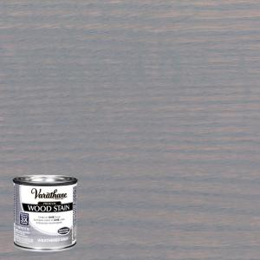 8 oz. Weathered Gray Premium Fast Dry Interior Wood Stain