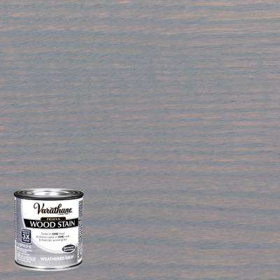 8 oz. Weathered Gray Premium Fast Dry Interior Wood Stain
