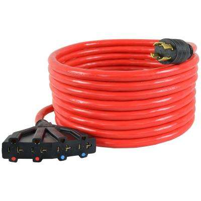 Fabulous Generator Cords Extension Cords The Home Depot Wiring Digital Resources Remcakbiperorg