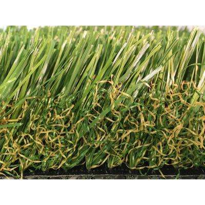 GREENLINE Supreme 2.5-90 Fescue Artificial Grass Synthetic Lawn Turf for Outdoor Landscape 15 ft. x Custom Length