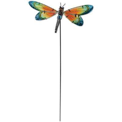 25 in. Blue Dragonfly Plant Pick