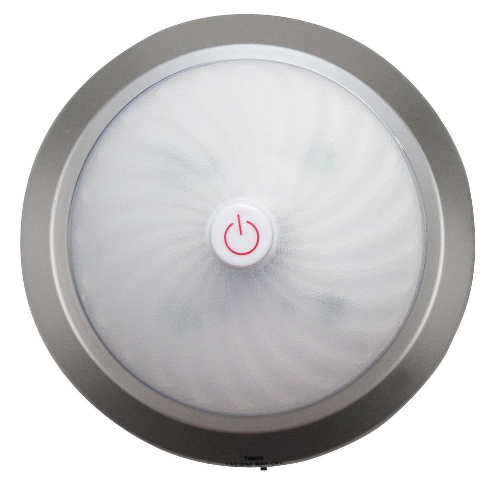 Meridian 4 LED 1.5-Watt 14cm Easy Touch On/Off Work Light - Silver