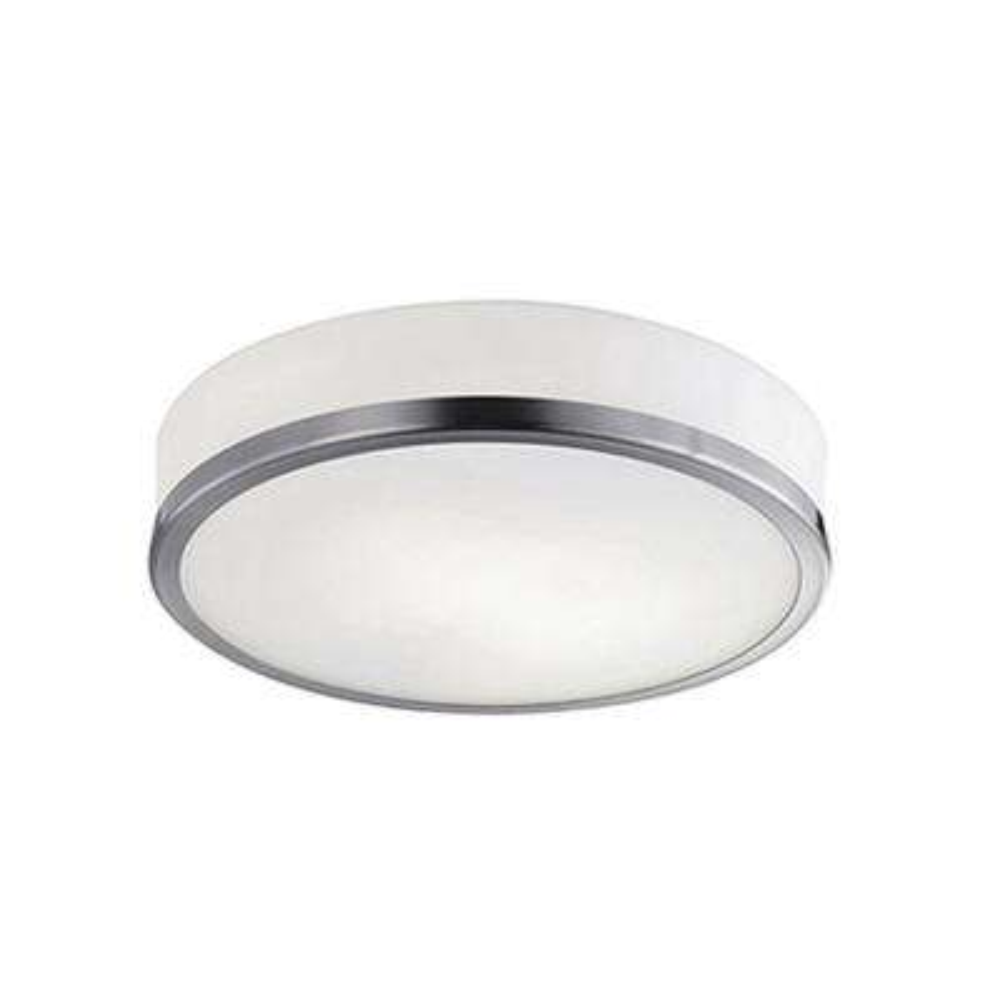 Tricia 2-Light Brushed Nickel Flushmount