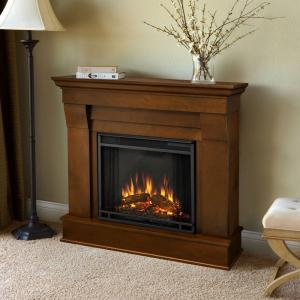 Real Flame Chateau 41 inch Electric Fireplace in Espresso by Real Flame