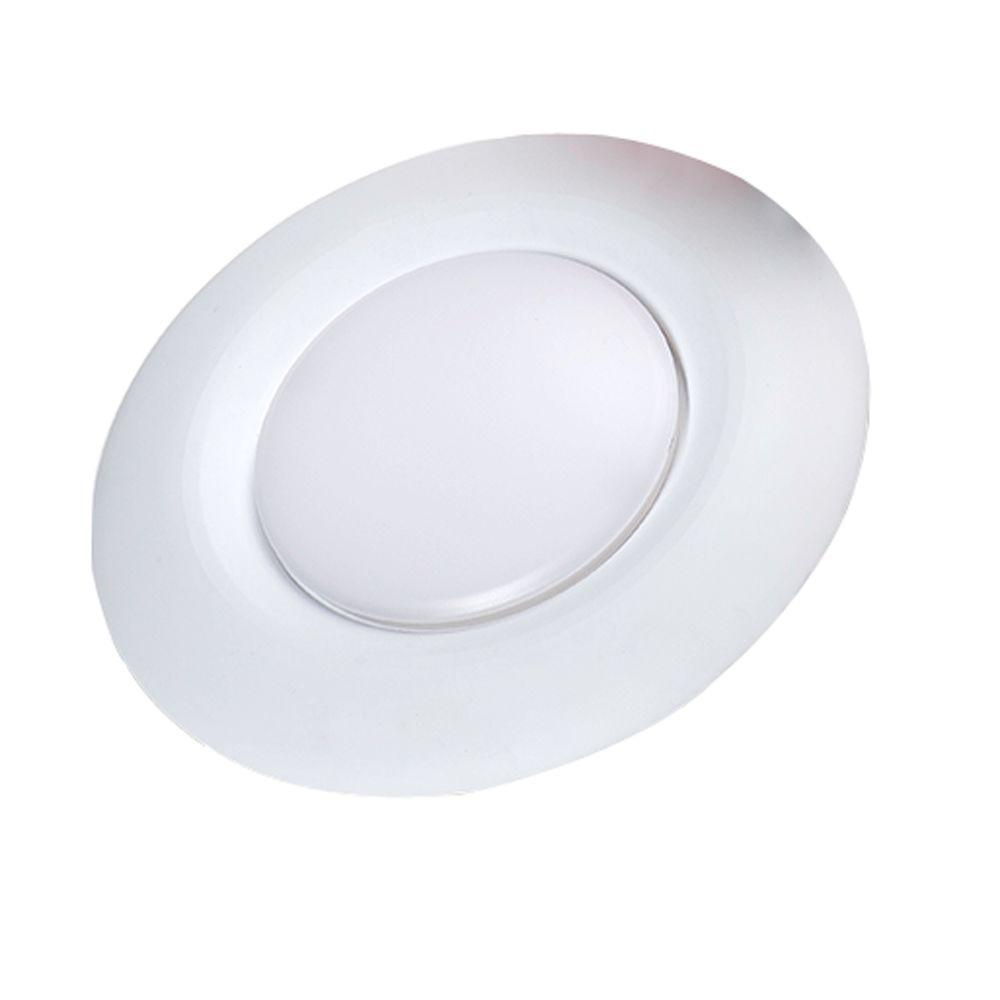 Commercial Electric 6 in. Warm White Recessed LED Can Disk Light