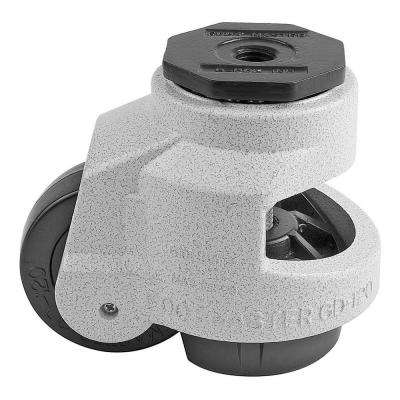 3 in. Nylon Wheel Metric Stem Leveling Caster with Load Rating 2200 lbs.