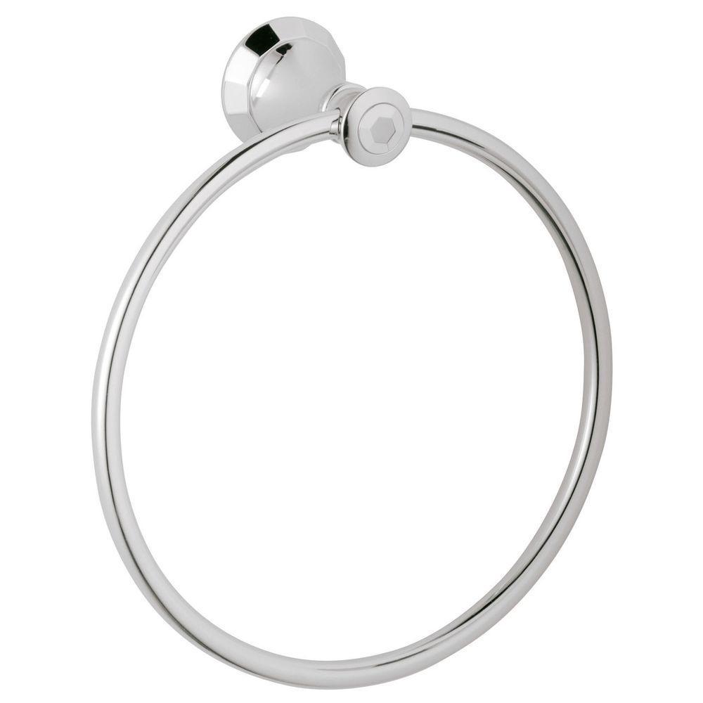 Kensington Towel Ring in Brushed Nickel InfinityFinish