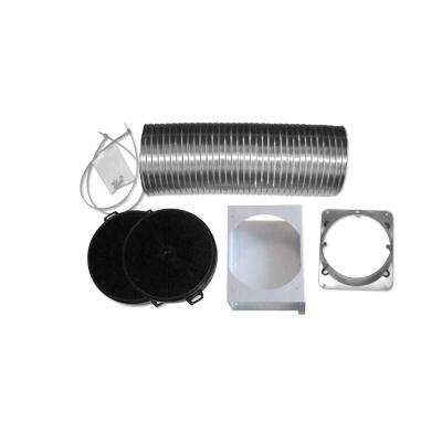 Non-Ducted Recirculating Kit for Wall Mount Pyramid Range Hood AN-1180, AN-1181, AN-1184, AN-1185