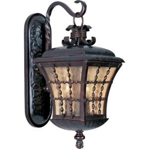Maxim Lighting Orleans 3-Light Oil Rubbed Bronze Outdoor Wall Mount from Outdoor Light Sets