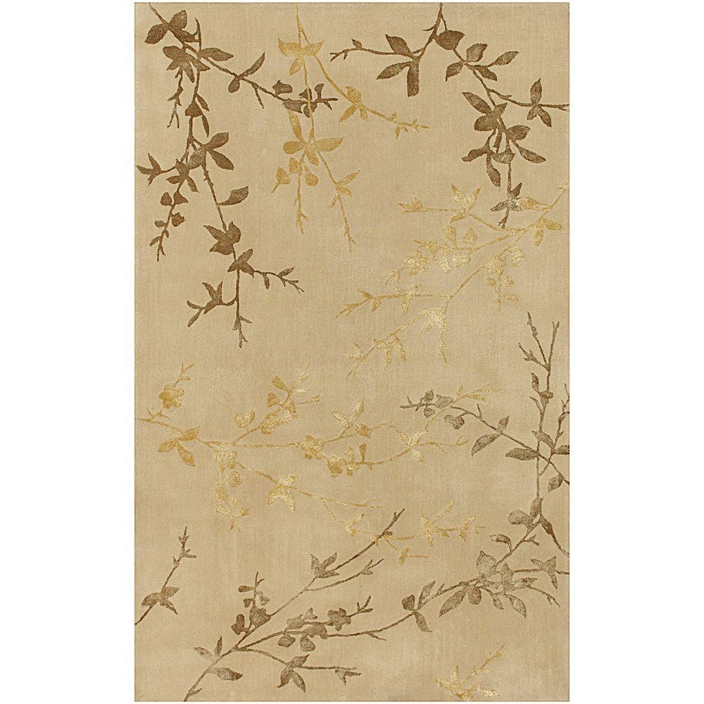 Alicia Tan 2 ft. x 3 ft. Accent Rug