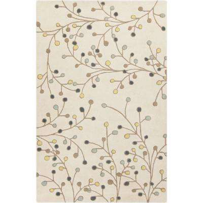 Aloysia Ivory 8 ft. x 10 ft. Indoor Area Rug