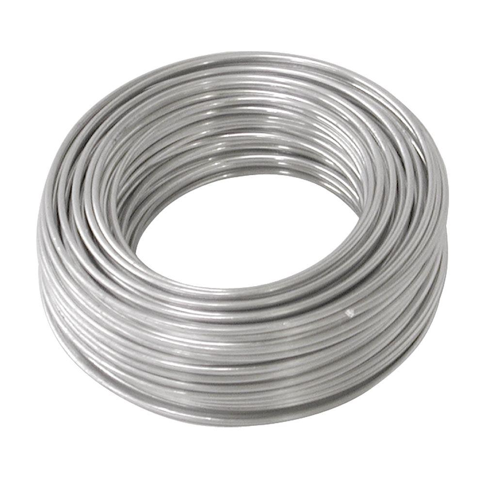 OOK 50 ft. 10 lb. 18-Gauge Aluminum Hobby Wire
