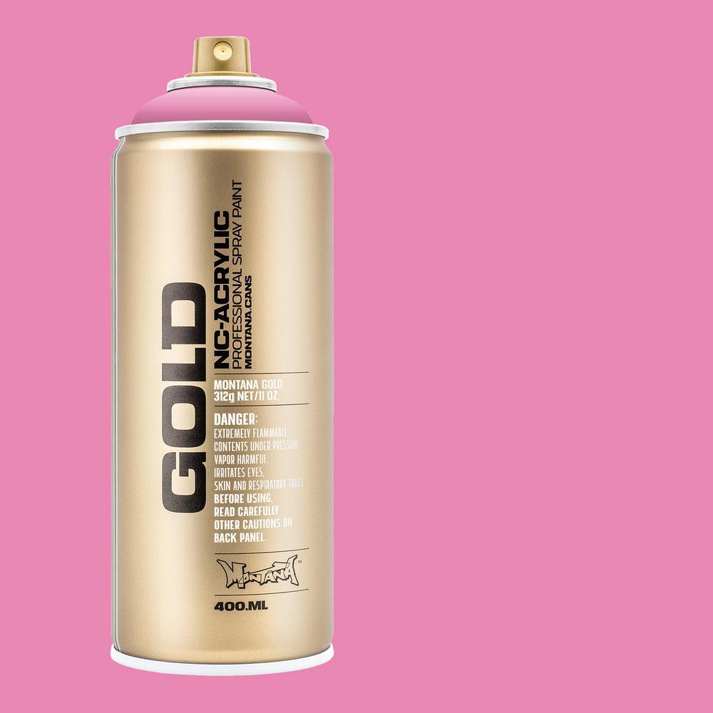 13 oz. GOLD Shock Pink Light Spray Paint