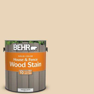 1 gal. #PPU7-18 Sand Pearl Solid House and Fence Wood Stain
