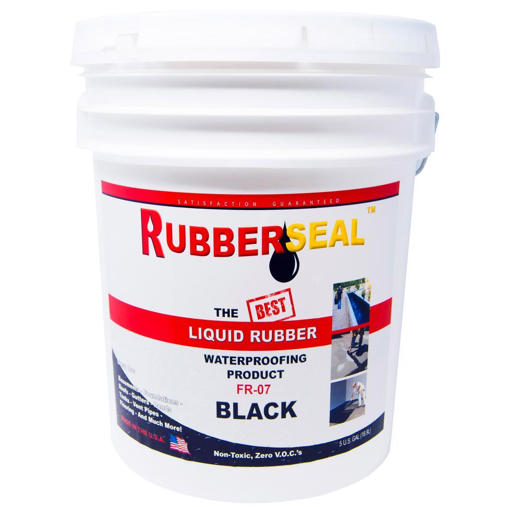 5 Gal. Black Liquid Rubber