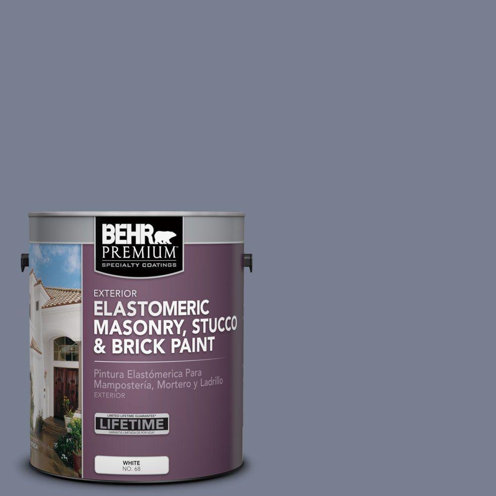 Ms 77 Purple Storm Elastomeric Masonry Stucco And Brick Exterior Paint