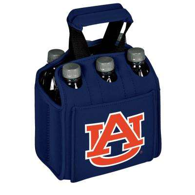 Auburn University Tigers 6-Bottles Navy Beverage Carrier
