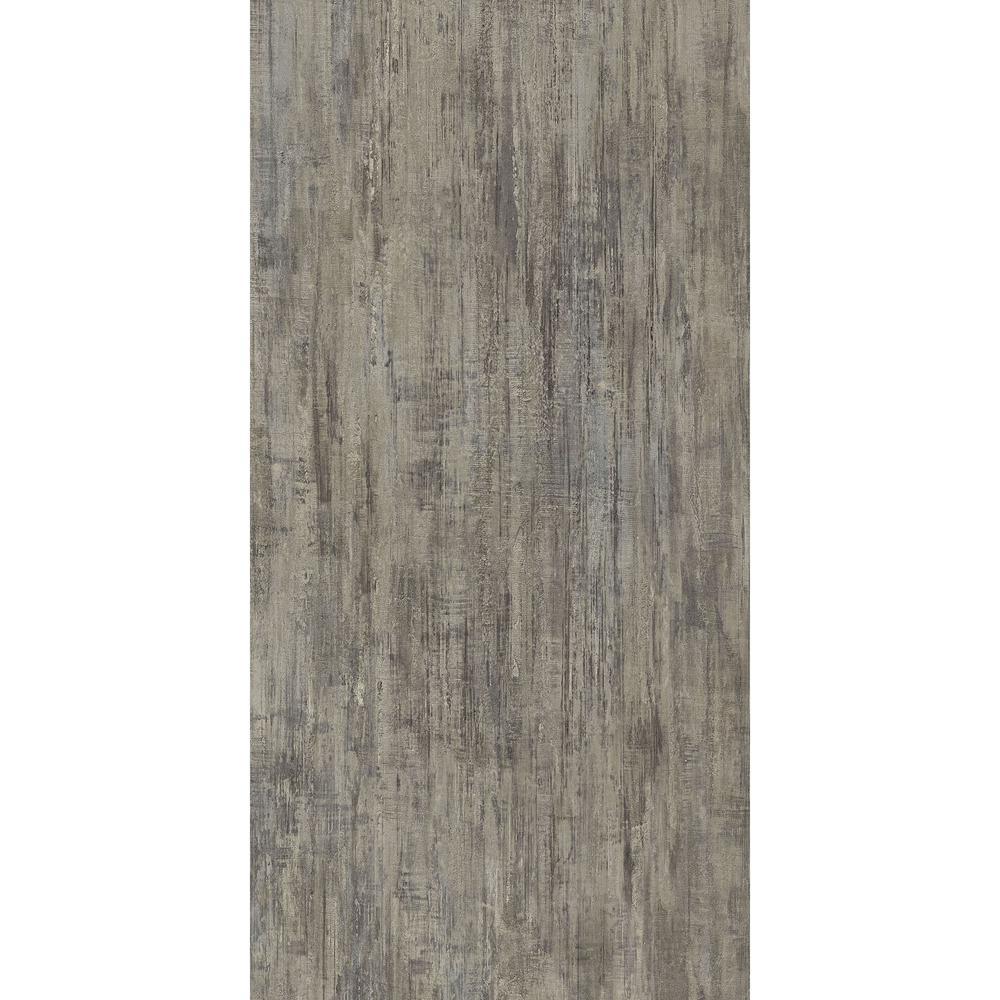 Brushed Grey 16 in. x 32 in. Luxury Vinyl Tile Flooring (24.89 sq. ft. / case)
