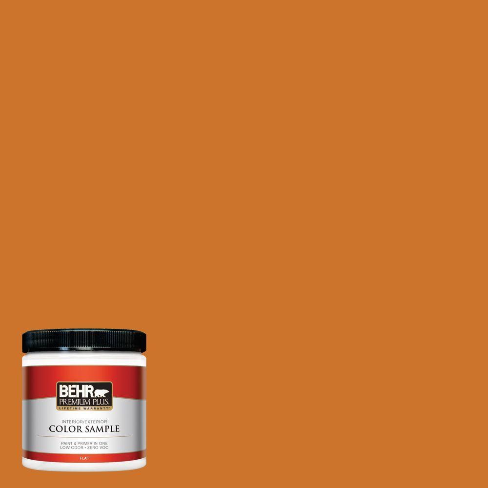 BEHR Premium Plus 8 oz. #S-H-270 October Interior/Exterior Paint Sample
