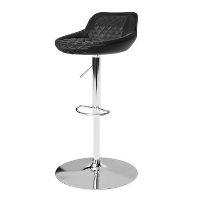 Mission 40.55 in. Black Gaming Stool