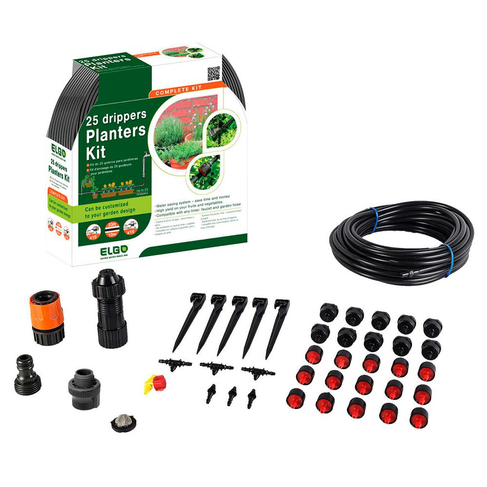 25 Drippers Planters Kit