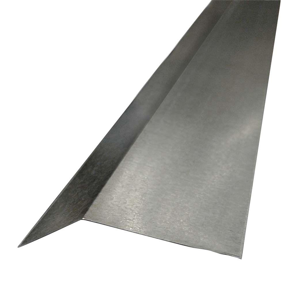 4 in. x 2 in. x 10 ft. Galvanized Steel Termite