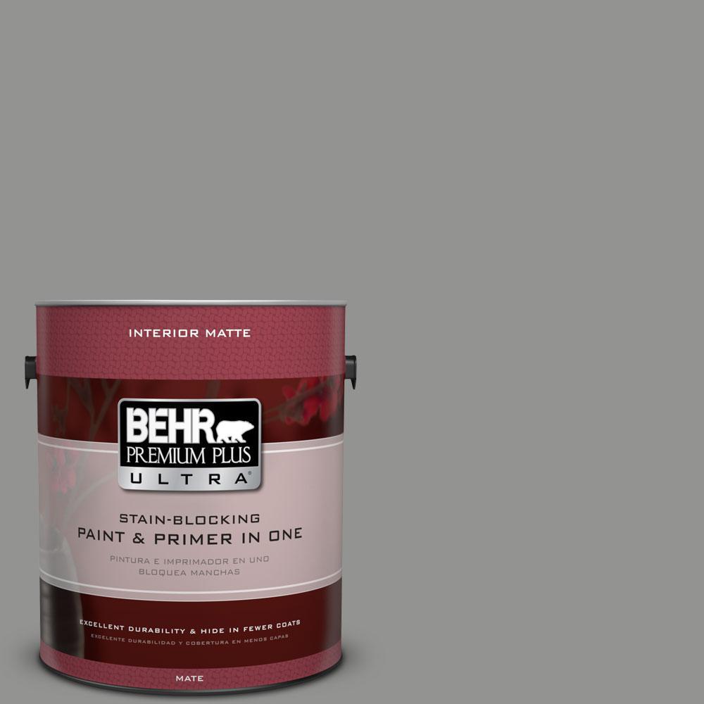 BEHR Premium Plus Ultra 1 gal. #780F-5 Anonymous Flat/Matte Interior Paint