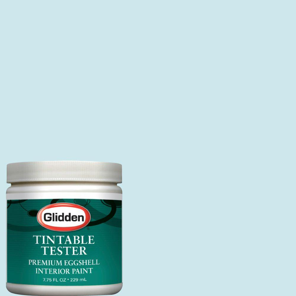 Glidden Premium 8-oz. Arctic Blue Interior Paint Tester