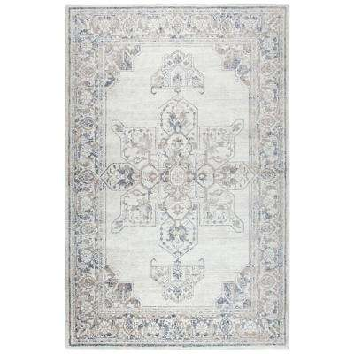 Panache Beige and Gray 9 ft. 10 in. x 12 ft. 6 in. Area Rug