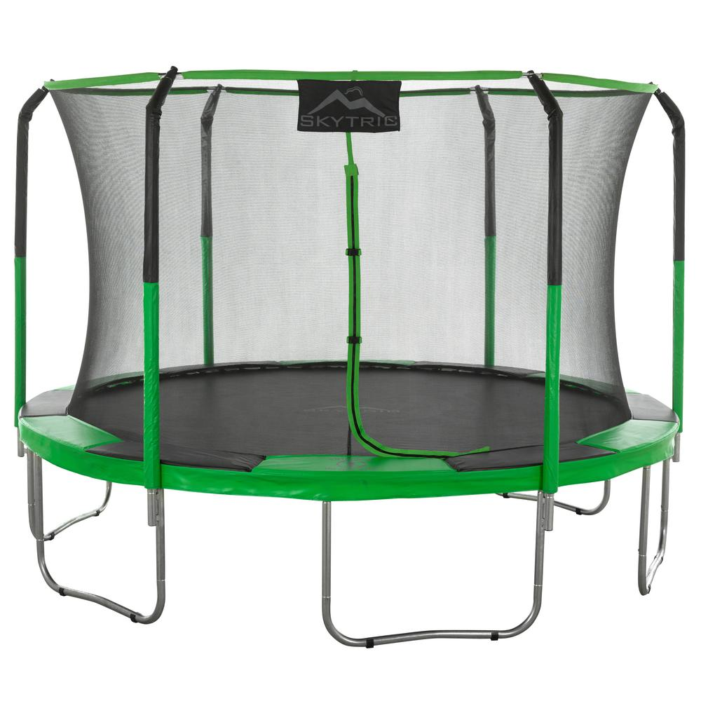 Propel 14 Trampoline With Fun Ring Enclosure: Outdoor Trampolines