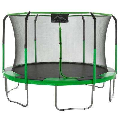 11 ft. Trampoline with Top Ring Enclosure System equipped with the Easy Assemble Feature