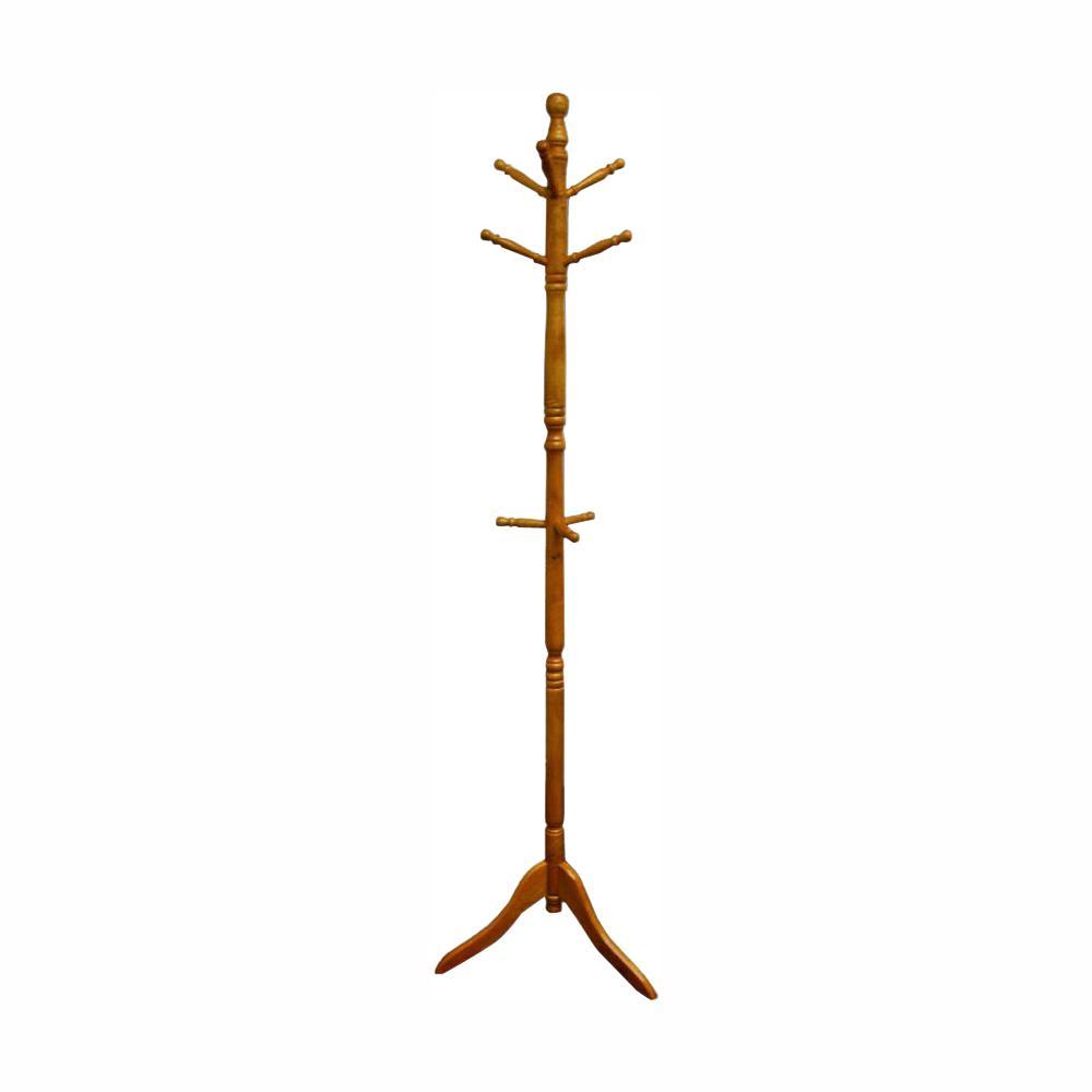 undefined Natural 0-Hook Coat Rack