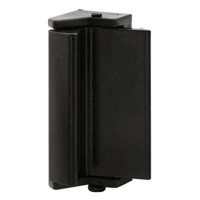 3-1/8 in. Black Plastic Latch and Pull for Sliding Window Spring-Loaded