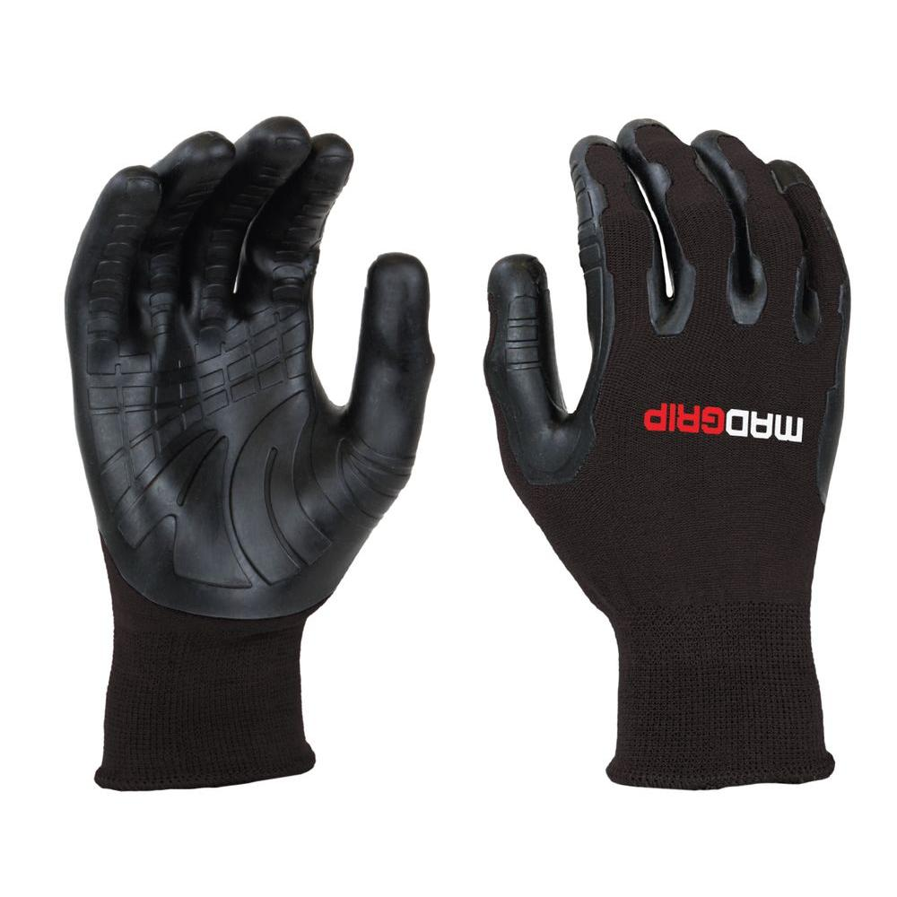Pro Palm Utility Large Black Glove