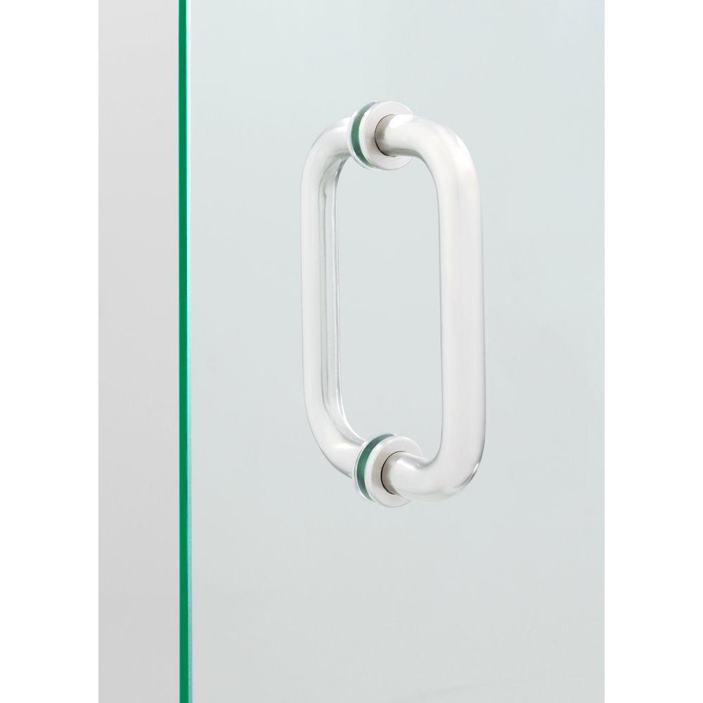 Showerdoordirect 6 in. Tubular Back-to-Back Shower Door Pull Handles ...