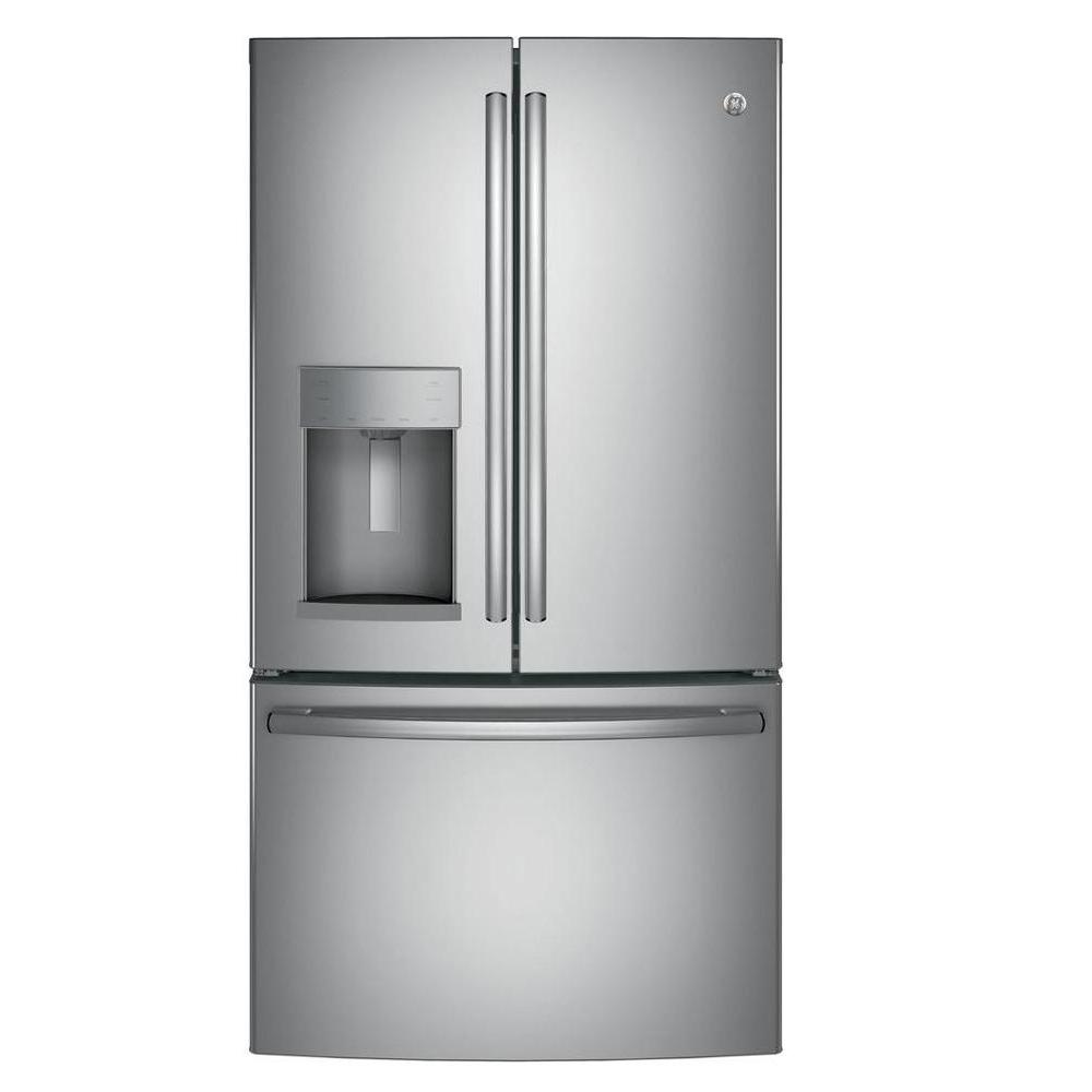 LG Electronics 30 in. W 21.8 cu. ft. French Door Refrigerator in ...