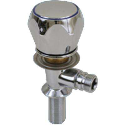Compact Cold Water Tap, Chrome Plated Brass