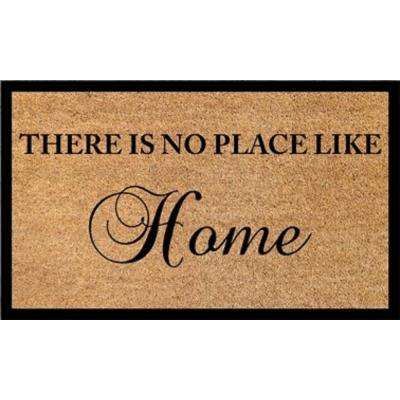 Vale There is No Place Like Home 18 in. x 30 in. Door Mat