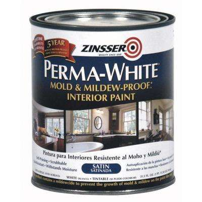 1 qt. Perma-White Mold and Mildew-Proof Satin Interior Paint (6-Pack)