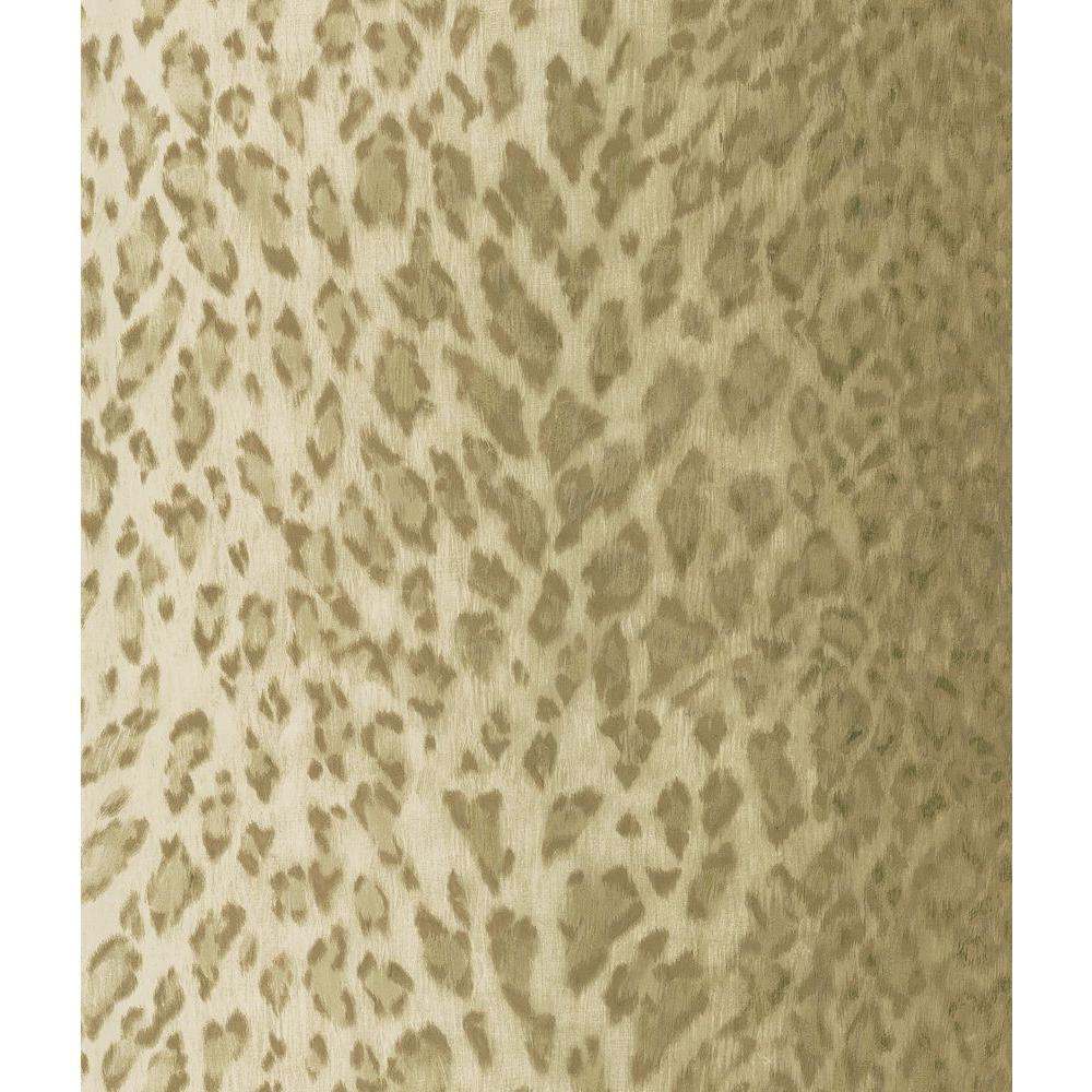 National Geographic Brown Leopard Skin Wallpaper Sample