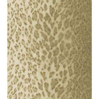 Brown Leopard Skin Wallpaper Sample