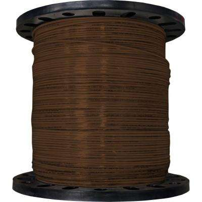 2500 ft. 12/19 Brown Stranded THHN Wire