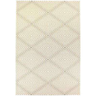 Veranda Ivory 4 ft. x 6 ft. Indoor/Outdoor Area Rug