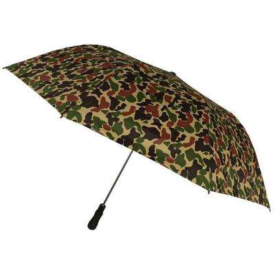 Kingstate 58 in. Arc Oversized Camouflage Auto Open Umbrella in Camo