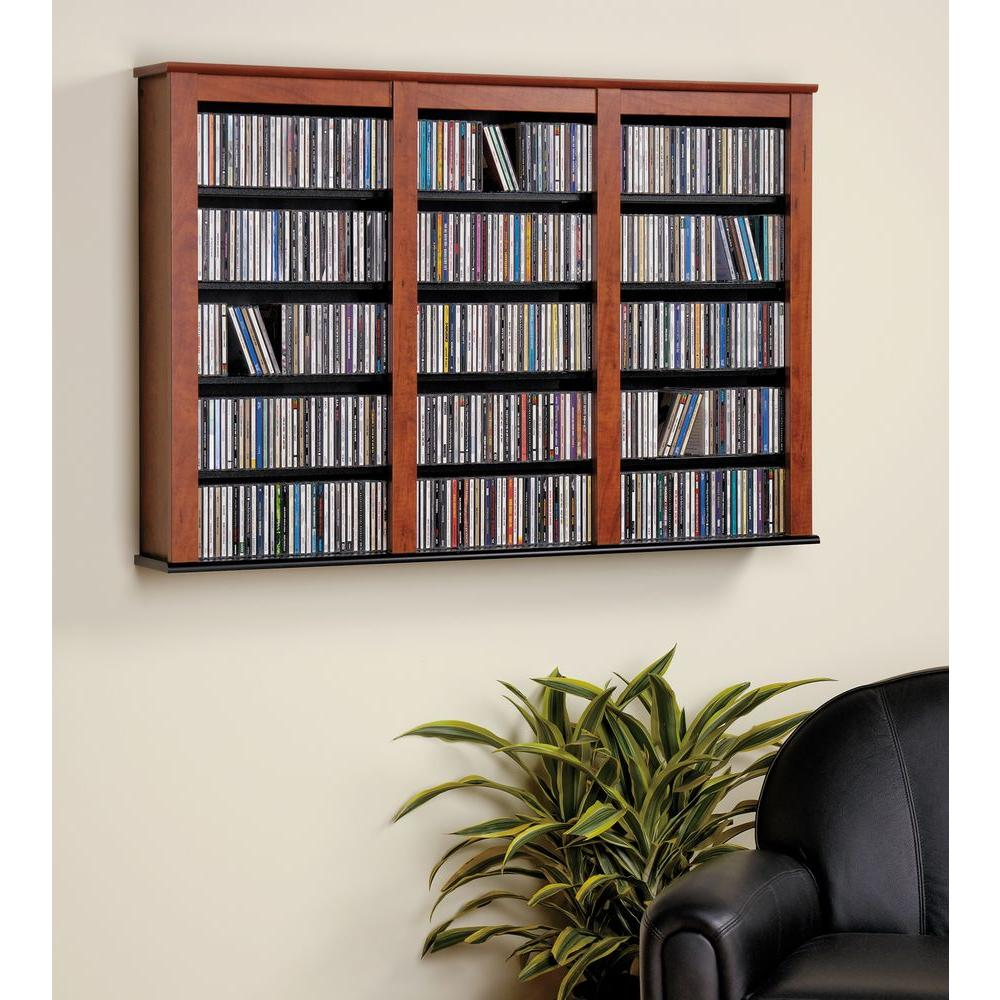 Beau Prepac Cherry Media Storage